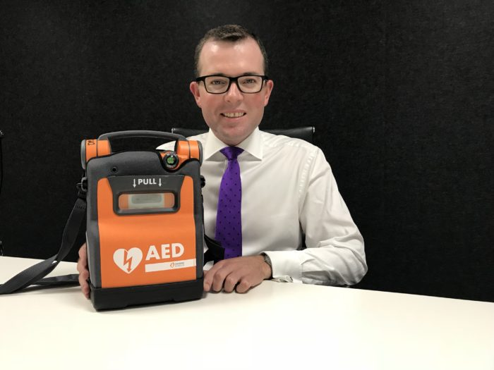 FUNDING FOR LIFE SAVING DEFIBRILATORS NOW AVAILABLE