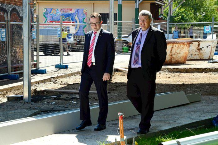 $1.2 MILLION GLEN INNES HIGH SCHOOL UPGRADE HEADING FOR AN A+