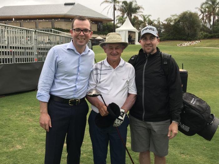 ARMIDALE LOCALS 'OPEN' THE AUSTRALIAN GOLF OPEN