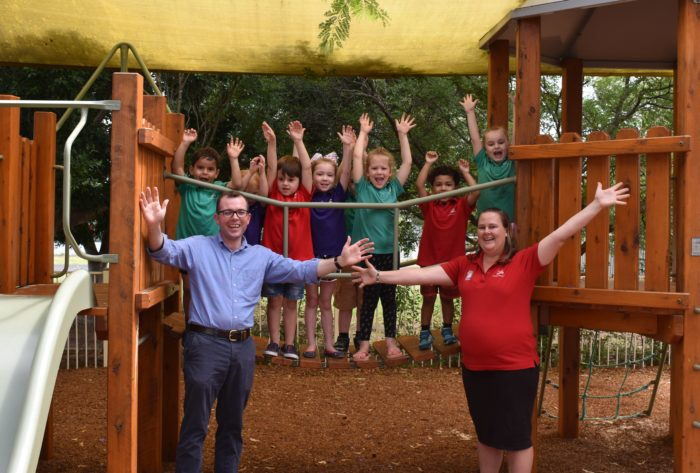 $455,000 TO EXPAND MOREE PRESCHOOL AND ADD 20 EXTRA PLACES