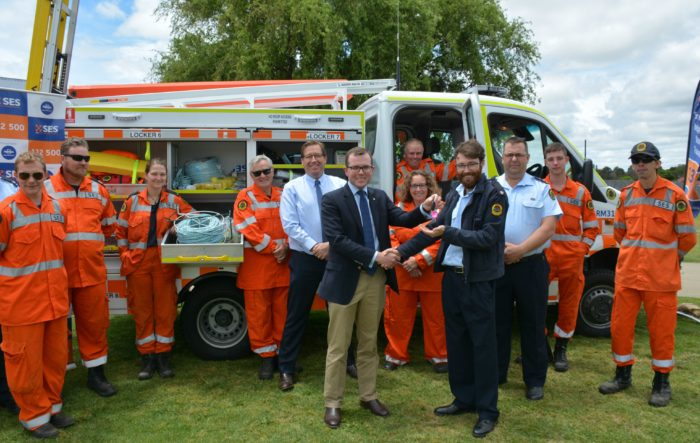 NEW $179,000 VEHICLE TO BOOST ARMIDALE SES EMERGENCY RESPONSE