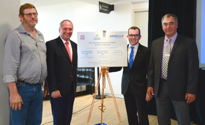 AIRPORT TERMINAL OPENING JUST THE BEGINNING FOR ARMIDALE REGION