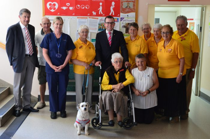 COMPLETED GLEN INNES HOSPITAL UPGRADES TO HELP CURE IN COMFORT