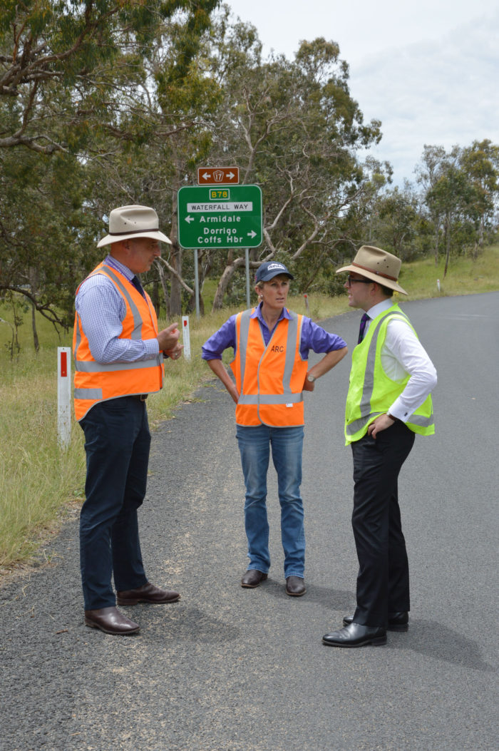 $880,000 TO WIDEN AND SEAL NOTORIOUS SECTION OF KEMPSEY ROAD