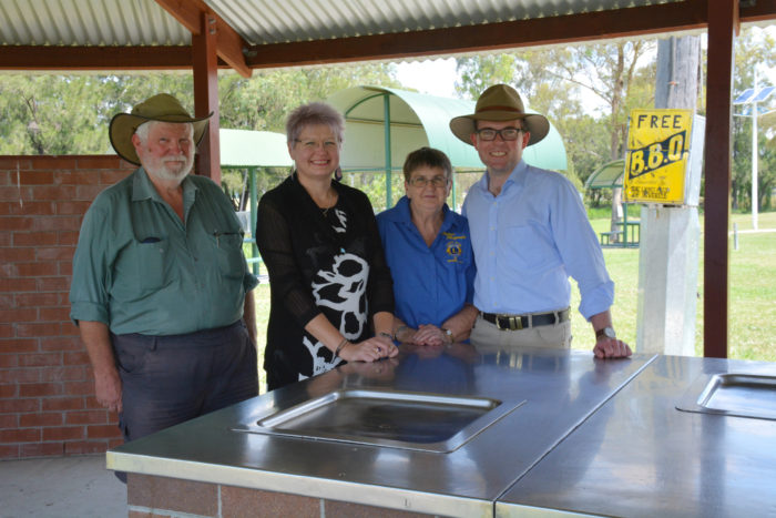 INVERELL LIONS SNAG $5,654 GRANT TO KEEP PARKGOERS SIZZLING