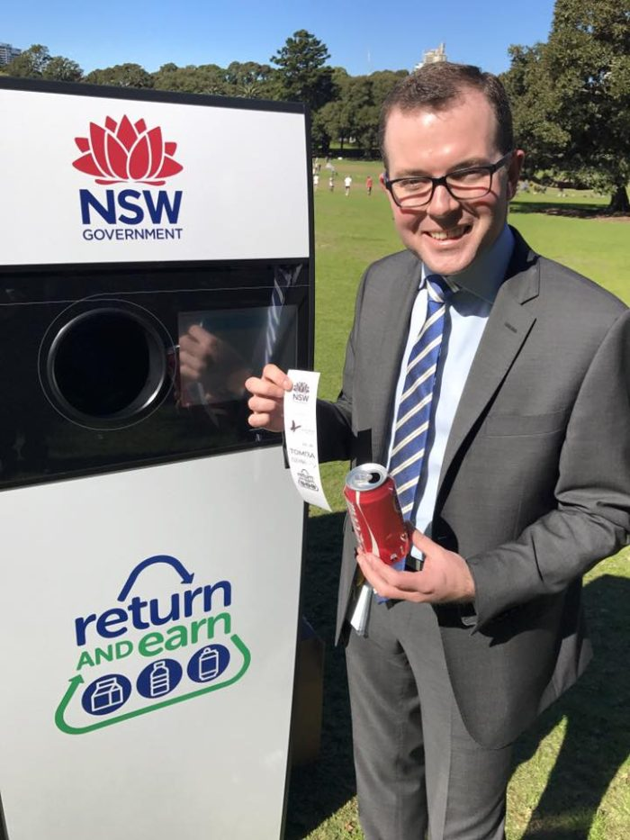 CONTAINER DEPOSIT TO HAVE CLEAN START IN ARMIDALE AND GUYRA