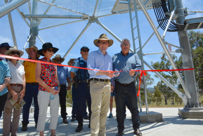 KINGS PLAINS GETS ROYAL RECEPTION WITH NEW MOBILE PHONE TOWER