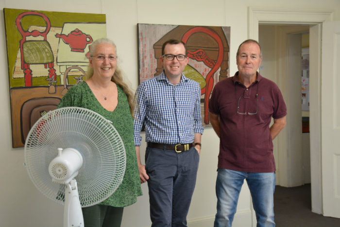 COOL CHANGE FOR ARMIDALE ART GALLERY WITH $6,303 FUNDING
