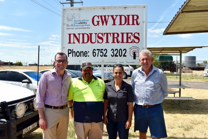 MOREE'S GWYDIR INDUSTRIES ON STABLE FOOTING WITH NEW $11K CONCRETE SLAB