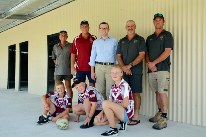 INVERELL HAWKS' CHANGE ROOMS TAKE OFF WITH $50,000 GRANT