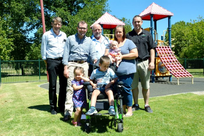 NEW INCLUSIVE PLAY EQUIPMENT TO OPEN GLEN INNES ANZAC PARK FOR ALL