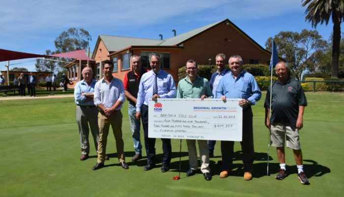 $409,000 TO BRING ARMIDALE'S GOLF COURSE CLUBHOUSE ABOVE PAR