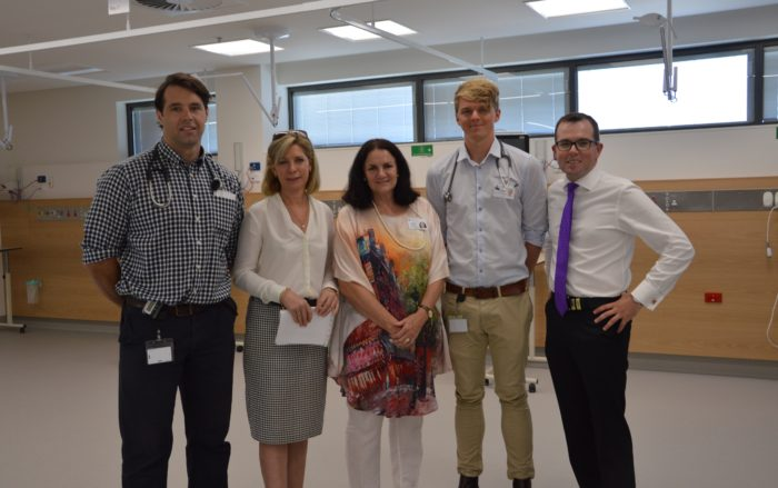 MARSHALL INVITES LOCALS TO TOUR ARMIDALE HOSPITAL REDEVELOPMENT
