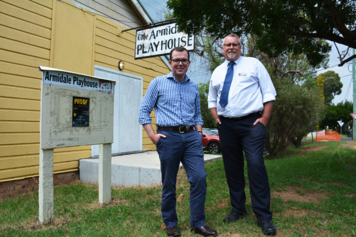 $10,000 TO GIVE THE ARMIDALE PLAYHOUSE A NEW STARRING ROLE
