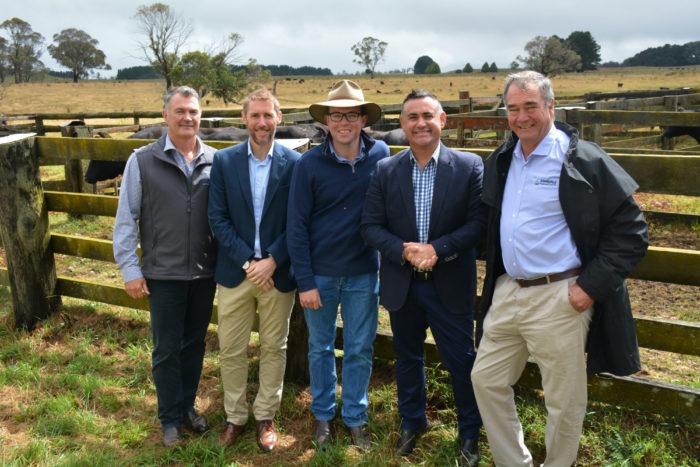 NSW TAKES $10 MILLION 'STEAK' IN WORLD-FIRST WAGYU FARM AT EBOR