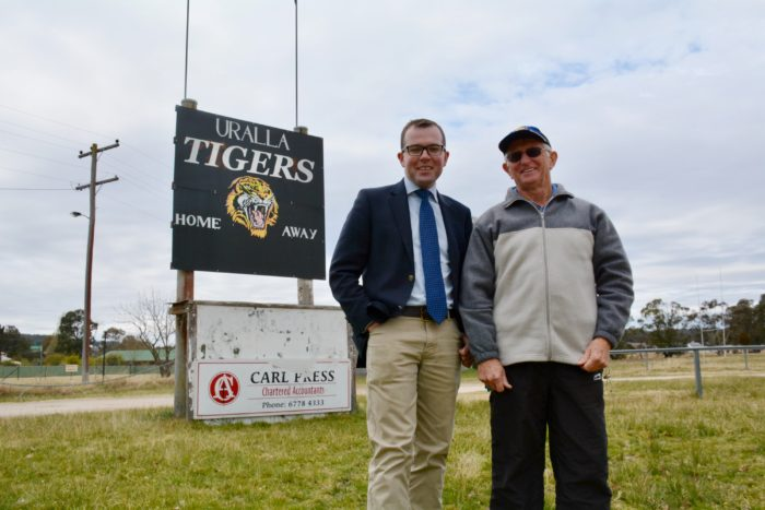 URALLA TIGERS CHALK UP $14,500 FUNDING WIN FOR NEW SCOREBOARD