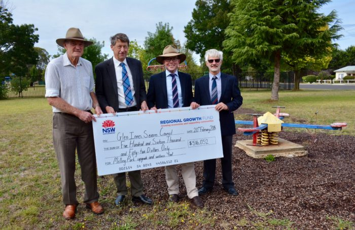 $1.87 MILLION TO BUILD COMMUNITY & SPORTING FACILITIES IN GLEN INNES
