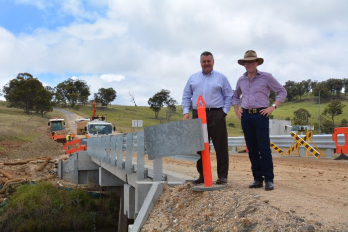 NO BRIDGE TOO FAR WITH $63,000 URALLA ROADS FUNDING