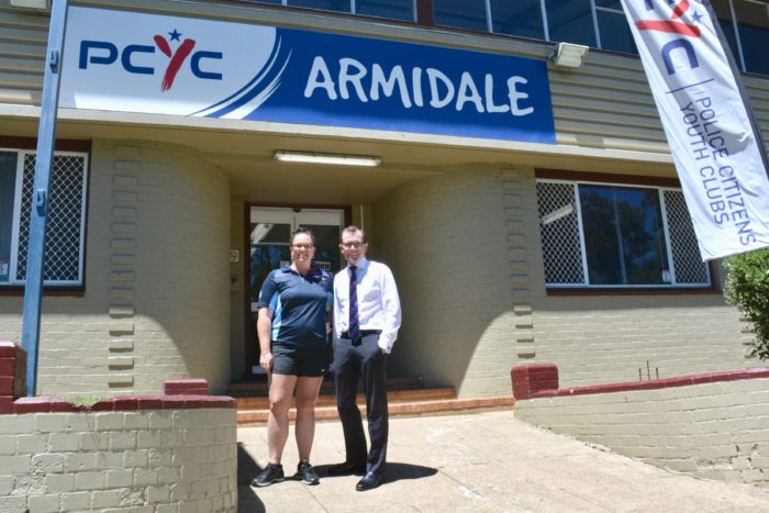$19,266 OPENS THE DOOR TO BETTER IMPRESSIONS AT ARMIDALE PCYC