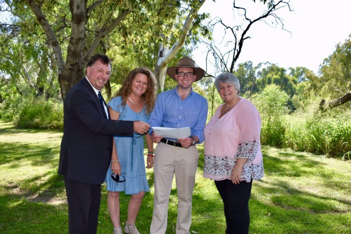 $402,554 MEHI RIVER CORRIDOR TO OFFER NEW COOL OPTIONS FOR MOREE