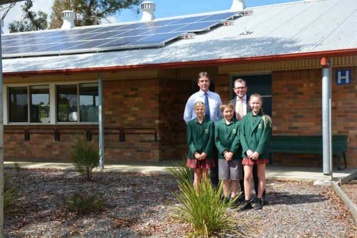 LOCAL SCHOOL TO SAVE THOUSANDS ON ENERGY WITH NEW SOLAR SYSTEM
