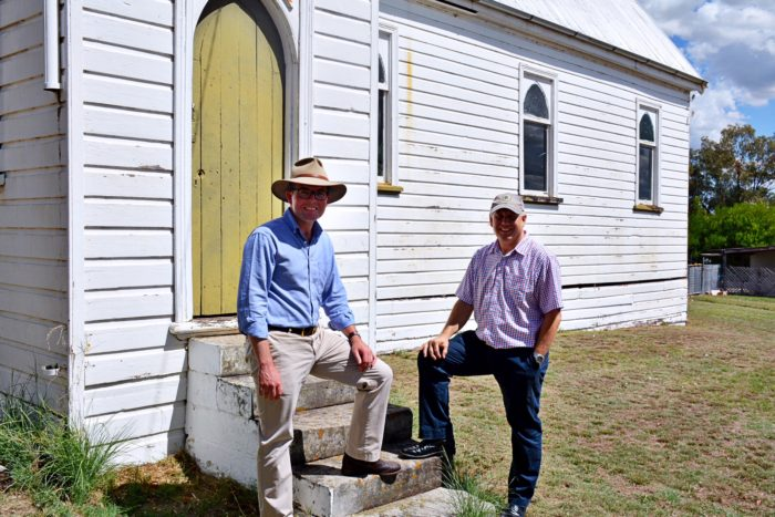 $29,120 TO RESURRECT WARIALDA PARISH HALL FOR COMMUNITY EVENTS