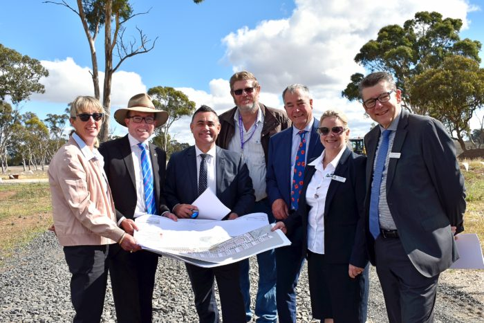 ARMIDALE BUSINESS PARK PROPOSAL PUT BEFORE DEPUTY PREMIER