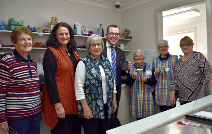 COFFEE'S BACK ON AT ARMIDALE HOSPITAL KIOSK WITH NEW MACHINE