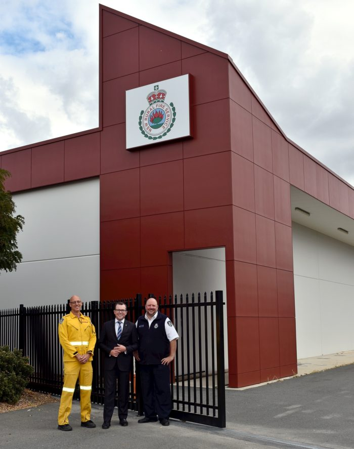 CONSTRUCTION PROGRESSING WELL ON NEW $2.4 MILLION GLEN INNES RFS HQ