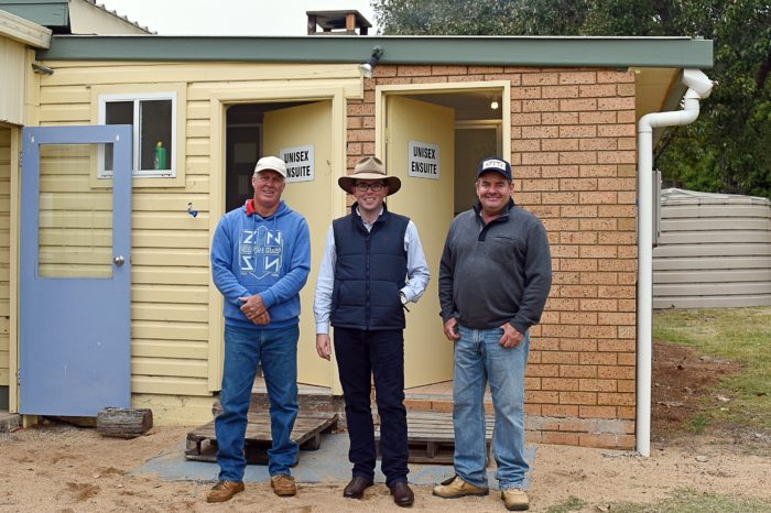 GUYRA GUN CLUB DRAWS A BEAD ON STATE GOVERNMENT FUNDING