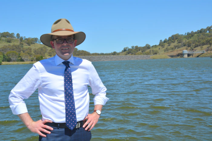 MARSHALL DEMANDS GUYRA PIPELINE AND NEW WATER TREATMENT PLANT