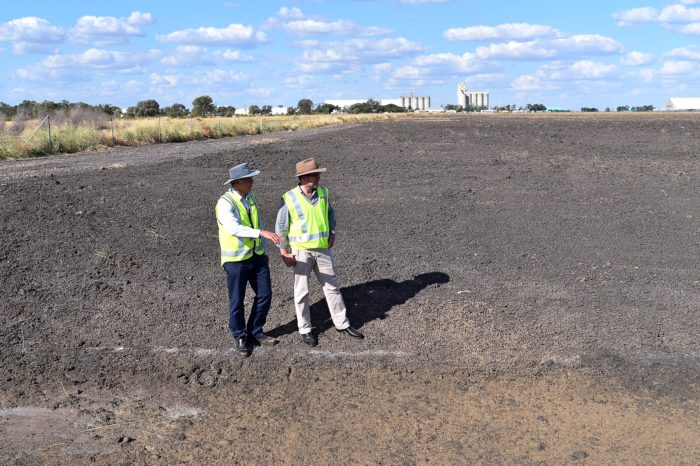 $2.5 MILLION MOREE AIRPORT UPGRADE WORKS WELL ON TRACK