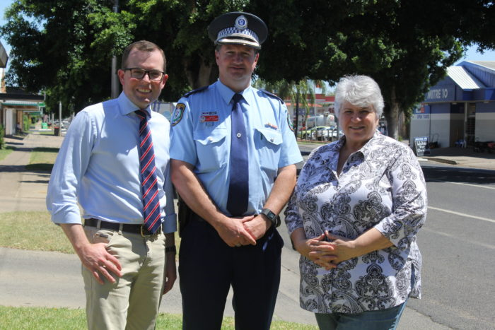 FOUR NEW POLICE RECRUITS CONTINUE TO BOOST THE BLUE LINE AT MOREE