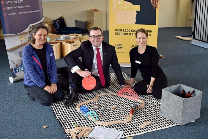 NEW CRÈCHE UNVEILED AT ARMIDALE TAFE TO SUPPORT STUDENTS