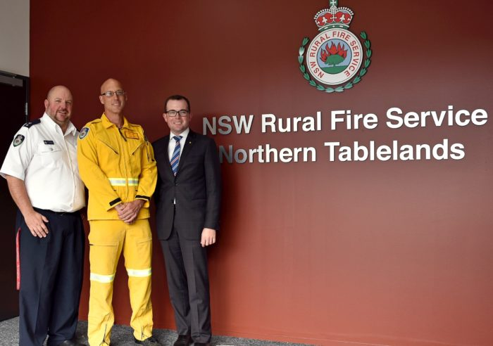 GLEN INNES FIREFIGHTER RICK OTT RECEIVES NSW HONOUR