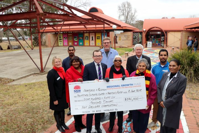 $846,000 FOR ARMIDALE ABORIGINAL CULTURAL CENTRE & KEEPING PLACE