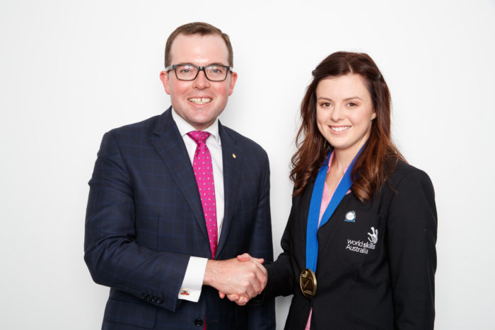 URALLA TAFE STUDENT COURTNEY BALDWIN BRINGS HOME GOLD