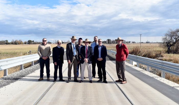 CAM CREEK BRIDGE OPENS NEW ERA FOR FREIGHT NORTH OF GLEN INNES