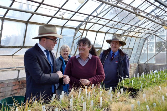 FIRST-HAND LOOK AT GLEN INNES RESEARCH STATION UPGRADE PLANS