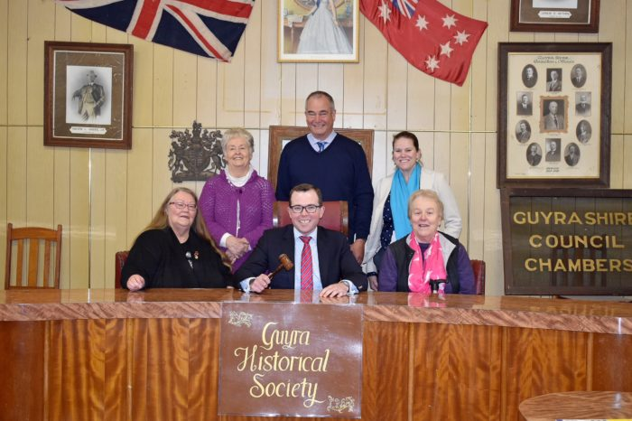 $60,000 BOOST FOR GUYRA HISTORY MUSEUM'S UPGRADE PLANS