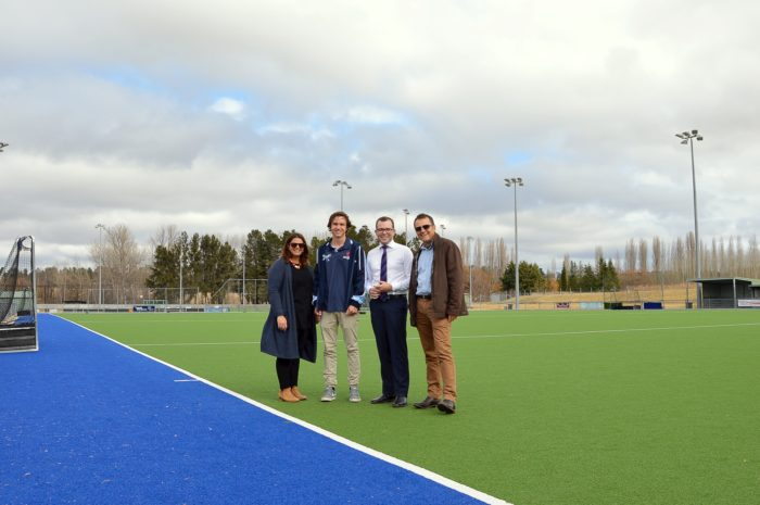 YOUNG HOCKEY UMPIRES RECEIVE A GUIDING HAND WITH GRANT