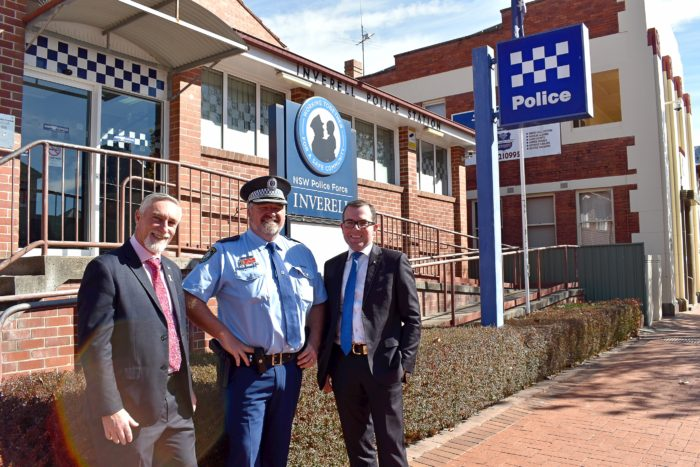 MP OPENS DOORS TO HIGHLIGHT NEED FOR NEW INVERELL POLICE STATION