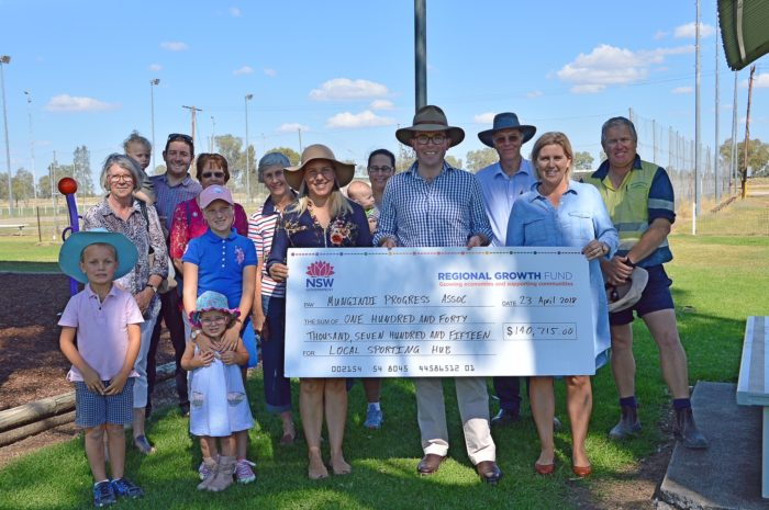 HUGE WINS FOR SPORTS FACILITY UPGRADES IN MUNGINDI AND MOREE