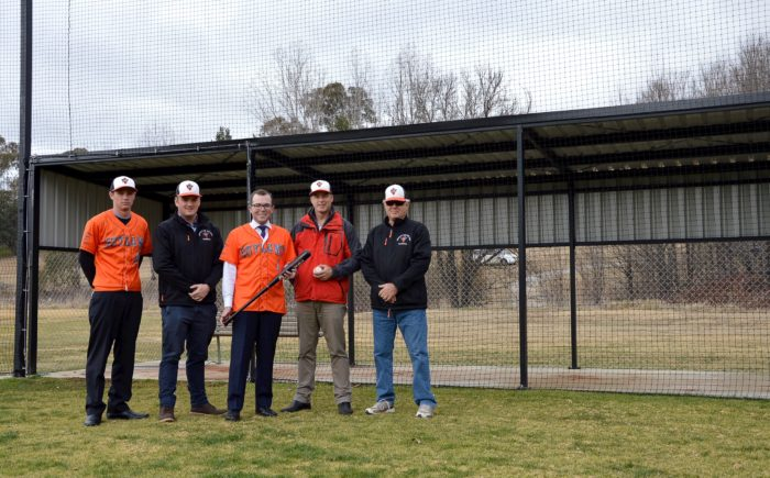 ARMIDALE OUTLAWS CATCH A HOMERUN HIT FROM MP MARSHALL