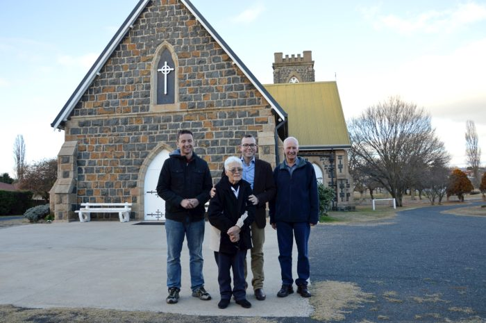 HOLY TRINITY SET TO RAISE THE CHURCH ROOF AT GLEN INNES