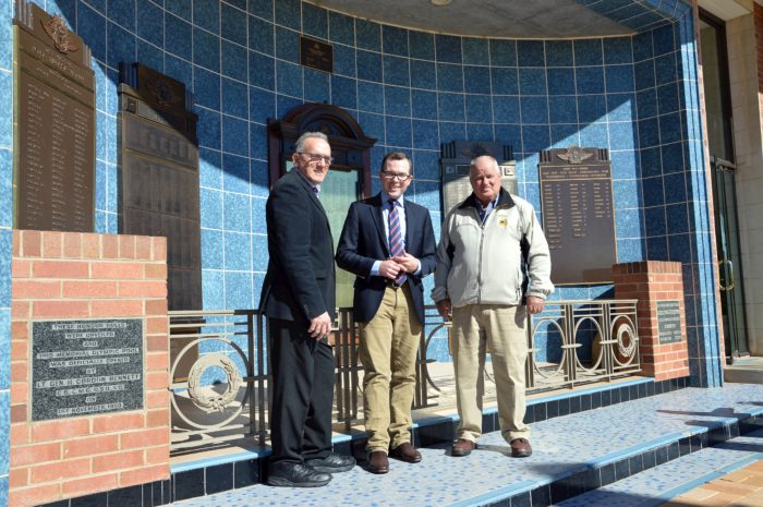 MINI FACELIFT FOR INVERELL WAR MEMORIAL WITH $3,500 GRANT