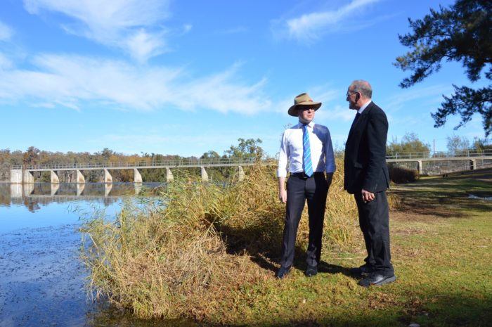 $881,606 UPGRADE OF LAKE INVERELL ON MARSHALL'S HIT LIST