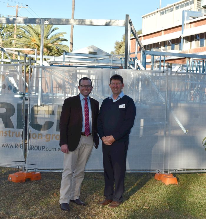 CONSTRUCTION PROGRESSING ON NEW $2 MILLION MOREE RENAL UNIT