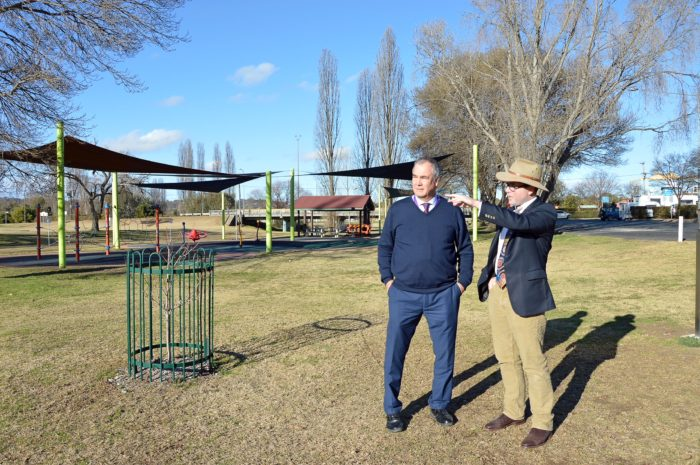 PAY TIME FOR PLAY TIME: $1 MILLION SUPER PLAYGROUND FOR ARMIDALE