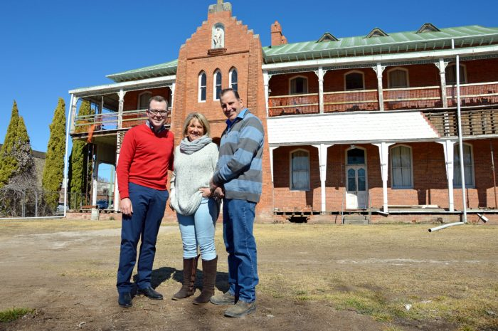INVERELL CONVENT $100,000 GRANT A MERCY BOOST FOR HERITAGE WORKS